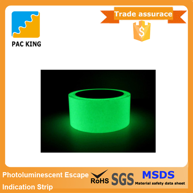 New Product China Manufacturer Safety Escape Photoluminescent Tape