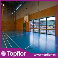 Indoor PU Basketball Court Covering