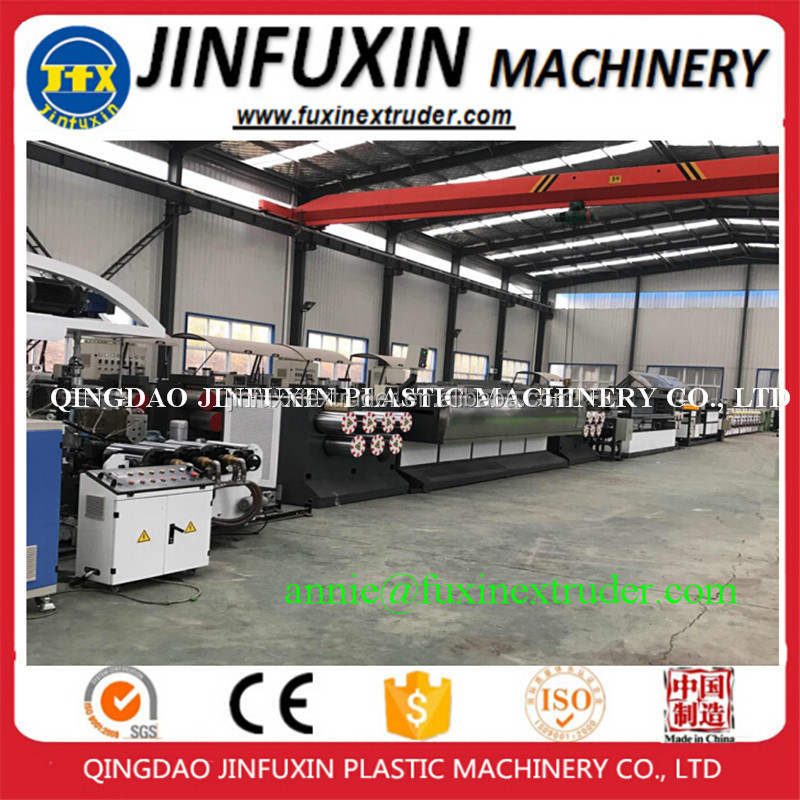 plastic packaging belt single screw extruder plastic PP strap band extrusion machine PP strapping band production line/extruder