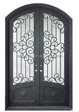 Arched Top Iron Entry Door Models FD-571