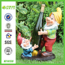 Gnome Resin Wine Bottle Holder