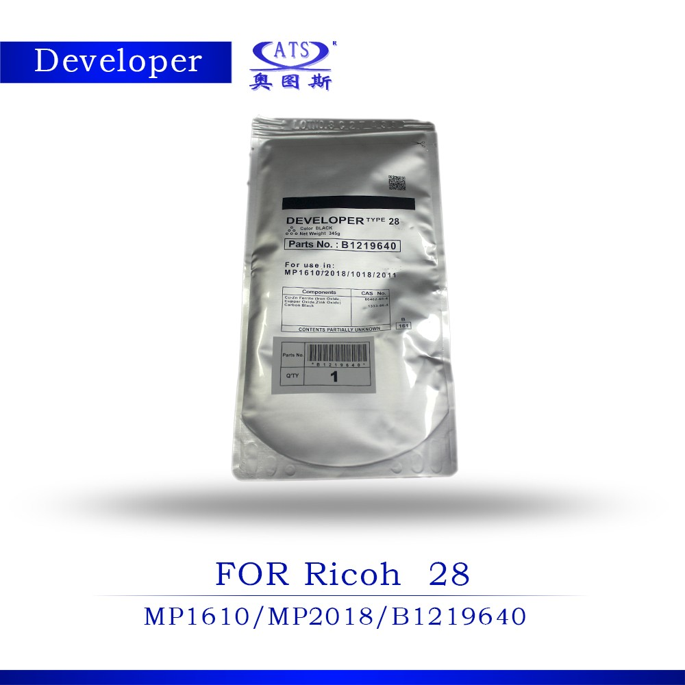 Compatible developer for Ricoh copier developer type 28