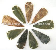 Indian Arrowheads Artifacts : Wholesale agate Arrowheads from india