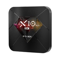 2019 Selling the best quality cost effective products tv box 4G 32G Android 9.0 Allwinner H6 R-TV BOX <strong>X10</strong> PLUS