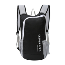 2017 high quality ultralight foldable waterproof new fashion foldable nylon bag folding travelling backpack