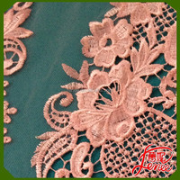 NEW DESIGN HIGH QUALITY PLAIN EMBROIDERY FABRIC FOR GIRL DRESS