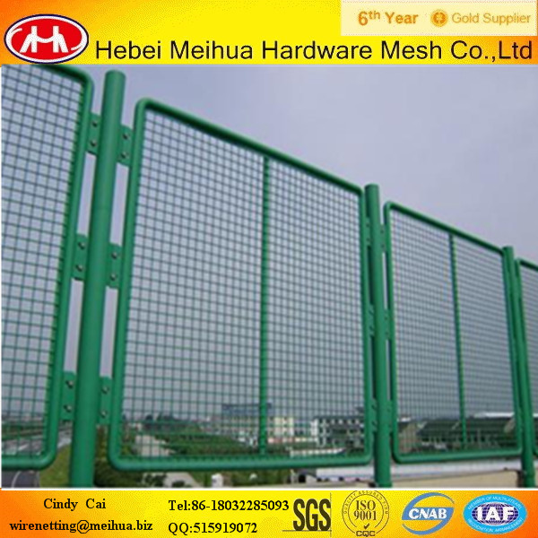 Anti-dizziness Expanded Metal Highway Fence