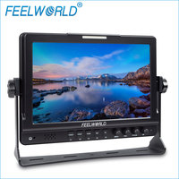 FEELWORLD 10 inch 1080p HDMI 3G-SDI professional video production broadcast monitors with peaking facus