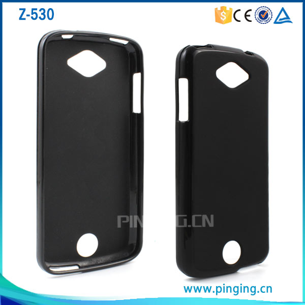 Factory price black soft frosted tpu back cover case for acer liquid z530