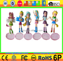 5 Inch Movable Joints Doll Vinyl Doll Heads And Hands