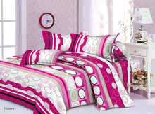 100% polyester fabric painting designs bed sheets