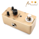 Musicalcase wholesale light yellow color guitar pedal distortion