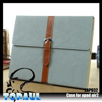 Alibaba China Luxury Leather belt clip case for ipad mini