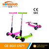 Wholesale products hot sale kid kick scooter/2016 Fun Toys Cheap 4 Wheel Kids Kick Scooter