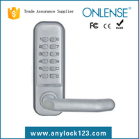 Safe-protection digital lock glass door with push button keypad