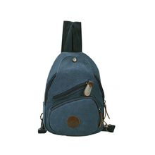 wholesale plain canvas backpack custom mans canvas sling backpack