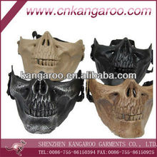 ABS skull impact resistance half face mask