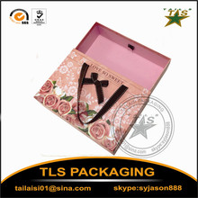 Decorative Sliding Cardboard Paper colorful Packaging Drawer gift box