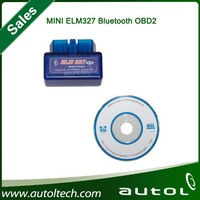 2015 Latest Version Super Mini ELM 327 Bluetooth V2.1 OBD2 Scanner ELM327 OBD 2 Car Diagnostic Interface mini bluetooth elm327