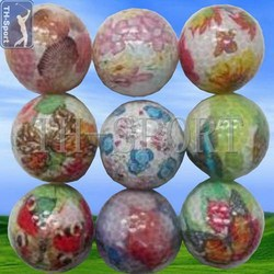 Contemporary unique recycled golf ball