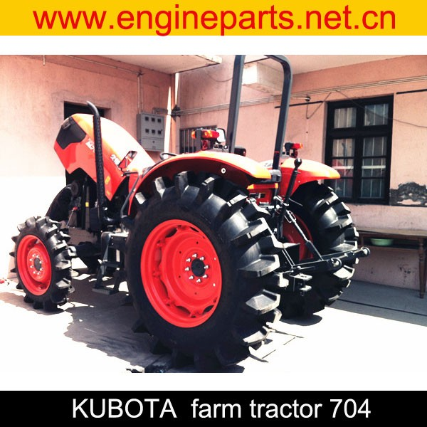 kubota farm tractor 704 agricultural tractor