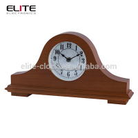 classic table european desk house decoration vintage wooden mantle clocks