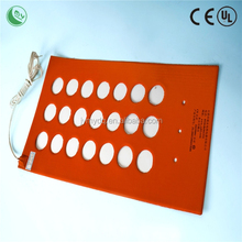 deep fryer heating element,Professional custom make all kinds of silicone rubber heater