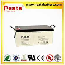 < NEATA BATTERY>Rechargeable deep cycle inverter solar 12v 200ah 24v gel battery