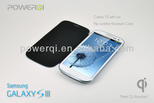 2014 newest private model wireless charger flip case for S3 i9300