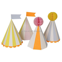 Honeycomb Party Hats Carnival Party Toddlers Preschool Children