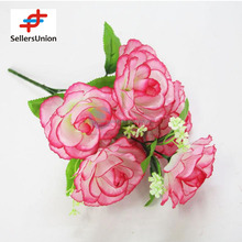 No.1 yiwu exporting commisssion agent wanted decorative peony artificial flower table