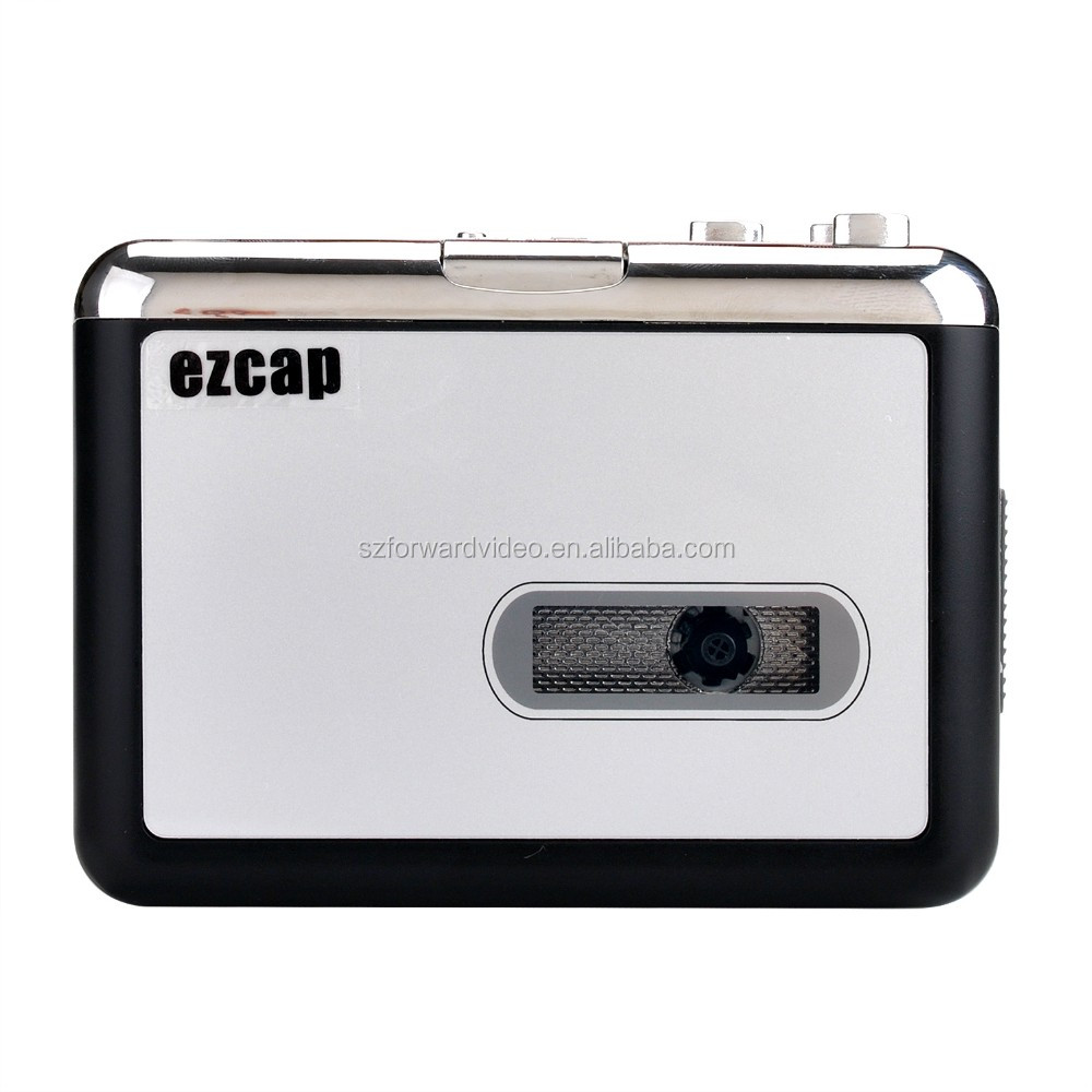 stand alone ezcap cassette audio tape to mp3 converter capture ezcap231