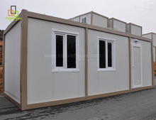 Cheap price 20 ft prefab living homes pre-made container portable house philippines for sale