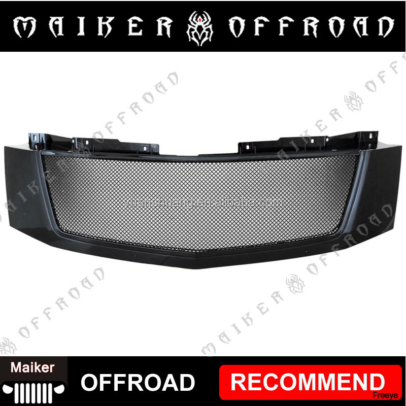 Front wire mesh Grille Cadillac escalade spare parts for Cadillac Escalade 07-12 auto accessories