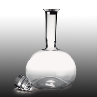 Fashion Beverage Glass Bottle, Mini Glass Bottle, Long Neck Clear Mini Bottle