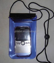 custom cheap pvc waterproof mobile cell phone bag
