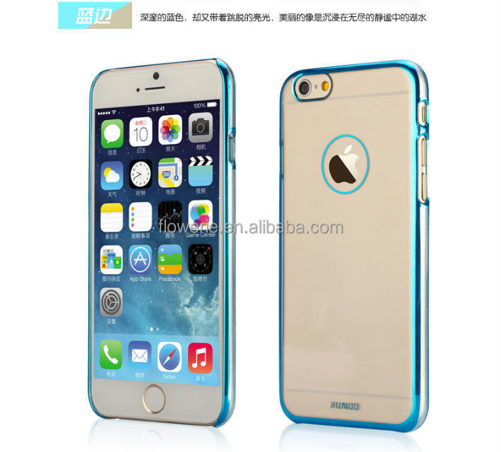 FL2551 XUNDD PC Metal potective case cover 0.3 mm ultra thin case for Apple Iphone 6