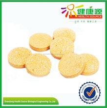 China supplier VC tablet 1000mg vitamin c effervescent tablet hot sale