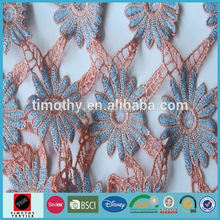 milk embroidered fabrics