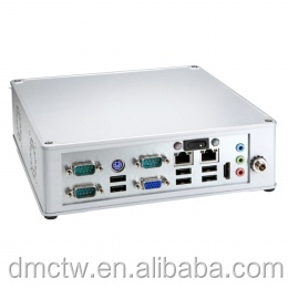 Fanless BOX PC Intel Atom D2550 CPU Embedded compact system with Intel D2550 based Mini-ITX board.