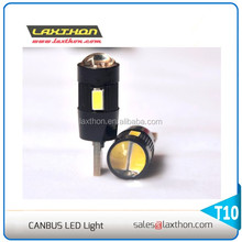 High quality CE T10 6 pcs 5630 SMD W5W 501 194 canbus Car led lighting for car signal light