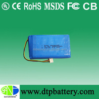 30C high discharge rate 11.1 rc lipo battery with connector
