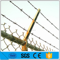 Hot dipped galvanized livestock fencing barbed wire
