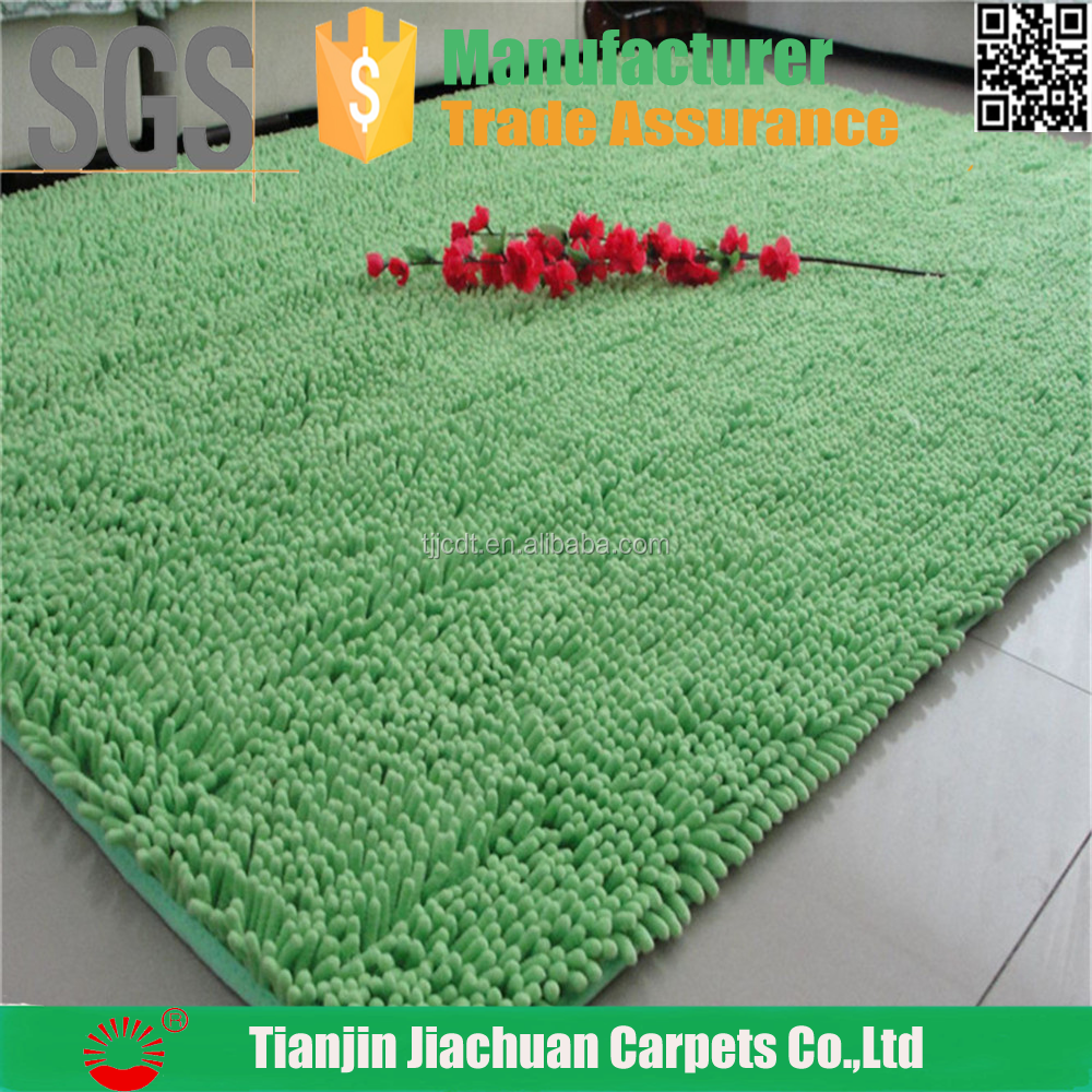 polyester chenille high pile cheap carpet in the philippines