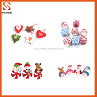 wholesale christmas supplies hanging christmas decor for tree ornament