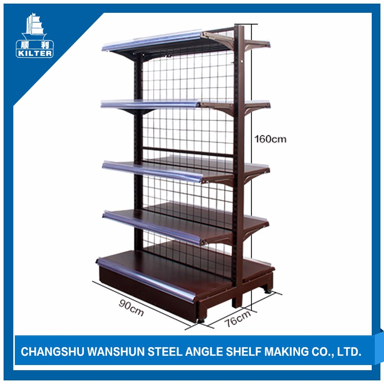 High quality used supermarket rack and trolley price