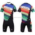 2016 short sleeve colorful cycling wear fashion cycling Jersey suit