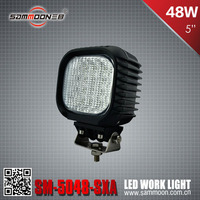 IP68 48w cree led work light for off-road vehicles, heavy-duty machine work light, led construction light_SM-5048-SXA