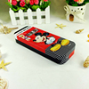 Lovely cartoon rectangle full color printed tin pencil box