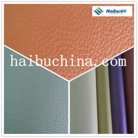 Abrasion Resistant PVC Artificial Leather For